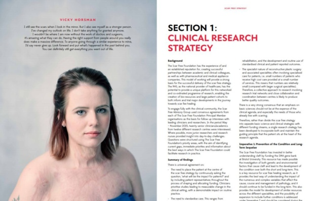 Scar Free Foundation Research Strategy