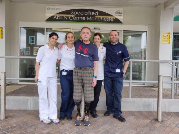 Jaco With Rehabilitation Team 2