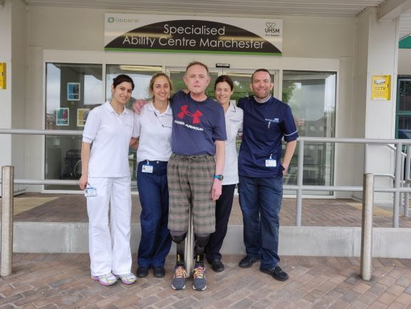 Jaco With Rehabilitation Team 2
