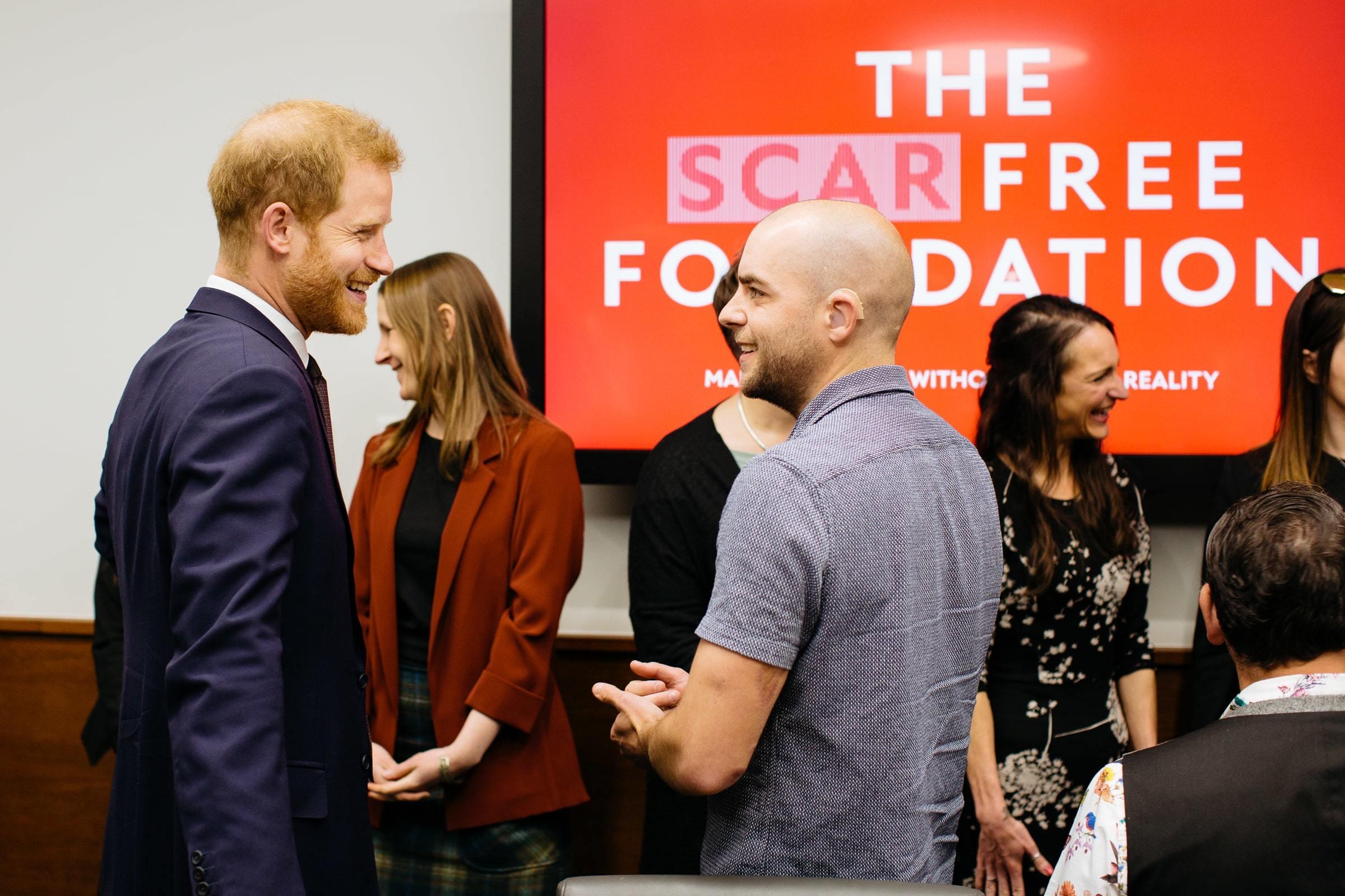 Prince Harry Visit 2