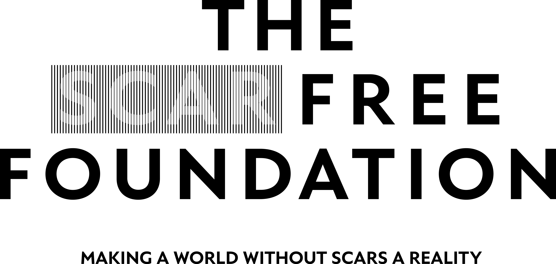Scar Free Foundation Large Print Logo Black Copy