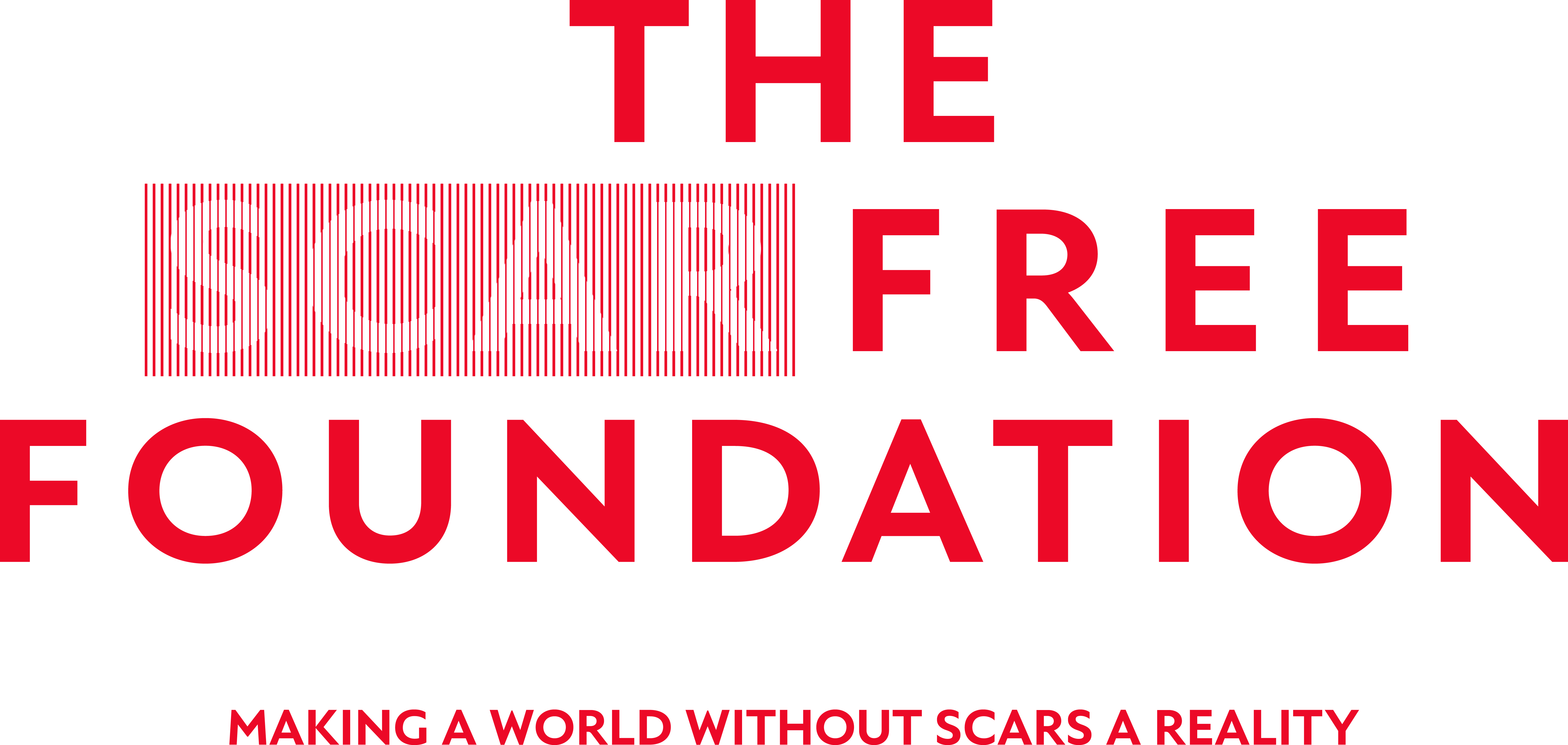Scar Free Foundation Large Print Logo Red