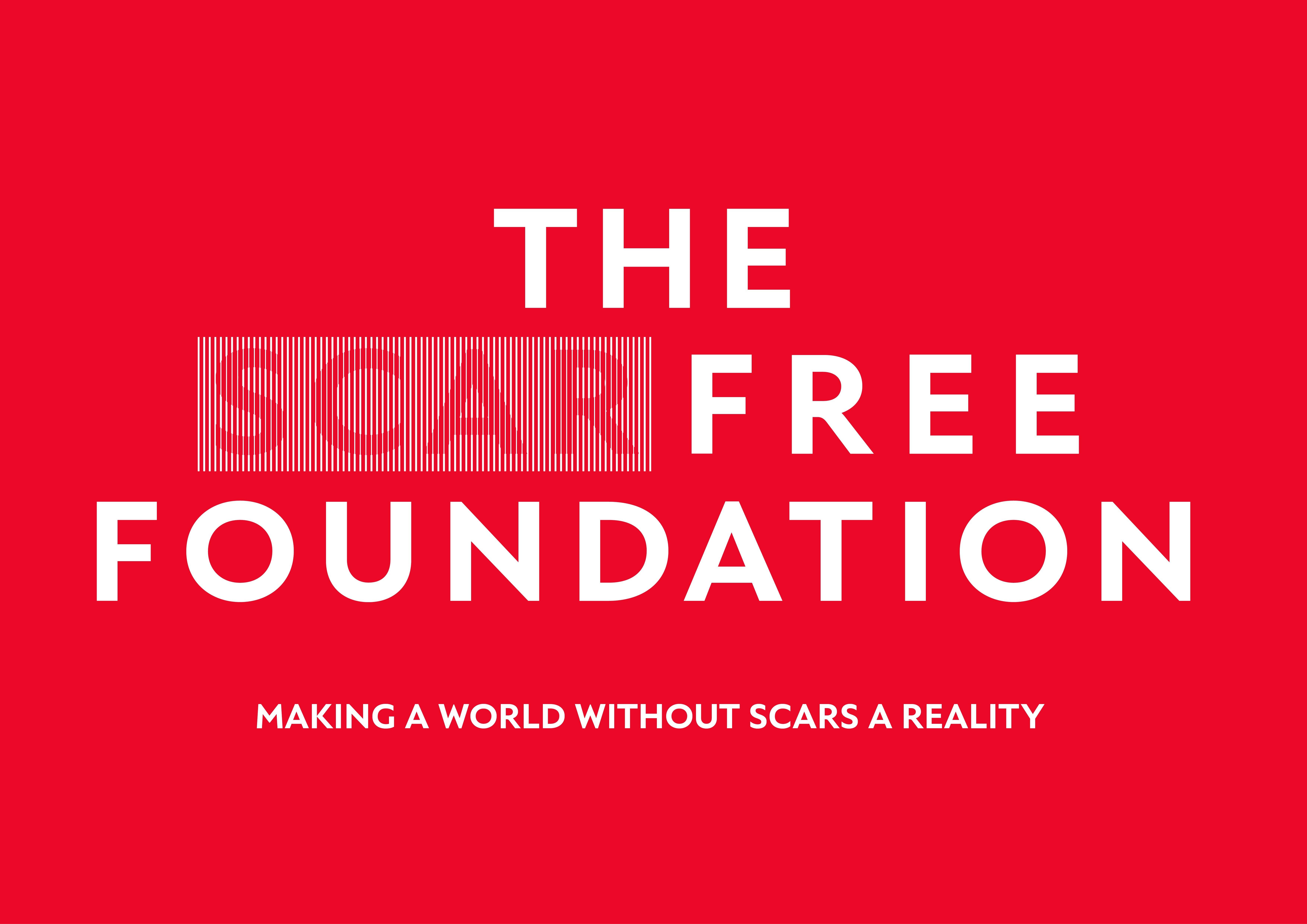 Scar Free Foundation Large Rgb Logo White
